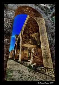 Glauco Dattini: Basilica Massenzio