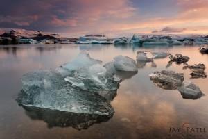 Jay Patel: Iceland Lagoon #1