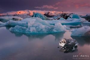 Jay Patel: Iceland Lagoon #3