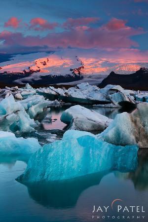 Jay Patel: Iceland Lagoon #4