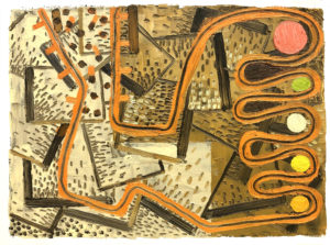 George McKim: George Braque's right foot