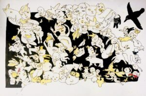 Marchi Wierson: drawing, May 11